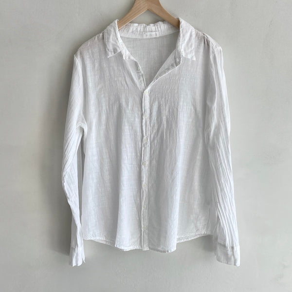 Romy Button Down Shirt - Two Color Options