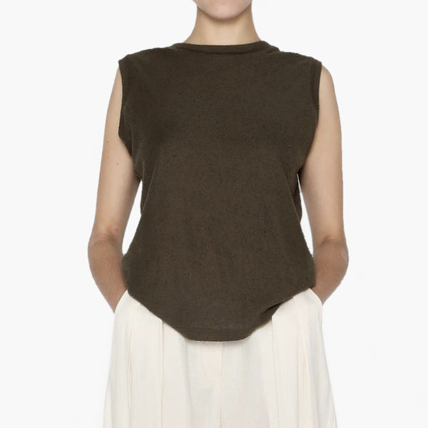 Linen Textured Tank - Two Color Options