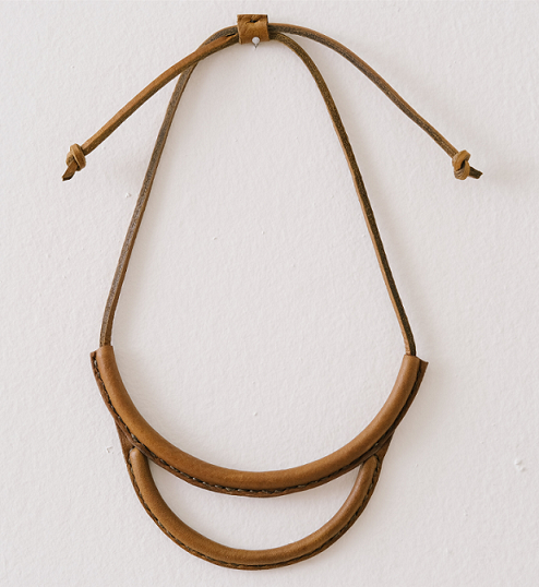 Arc Necklace Olive