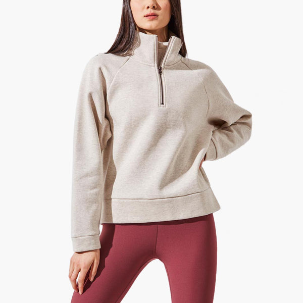 Bekon Zip Fleece Sweatshirt