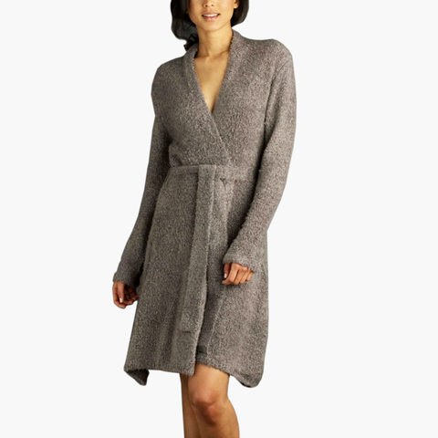 Chenille Towel Robe Flannel
