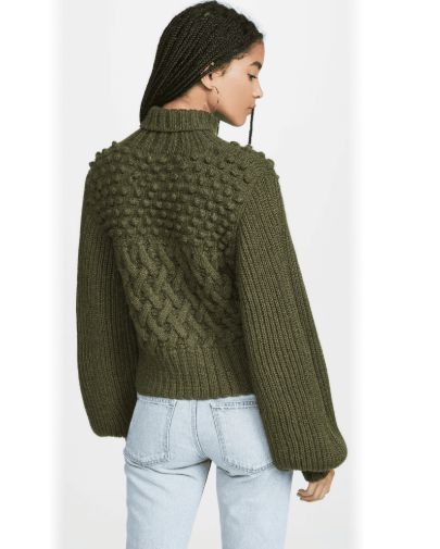 Quercia Handknit Turtleneck - Two Color Options