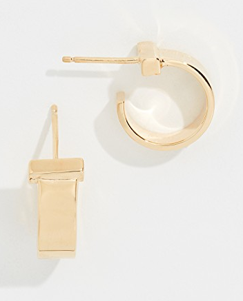 June XS Hoop Earrings 14K Gold Plated Silver