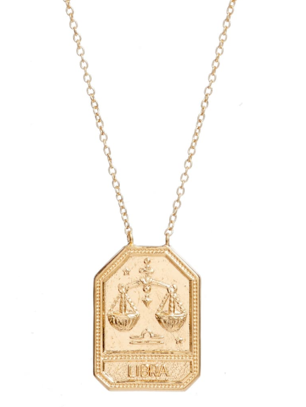 Kiana Necklace Gold Vermeil Libra