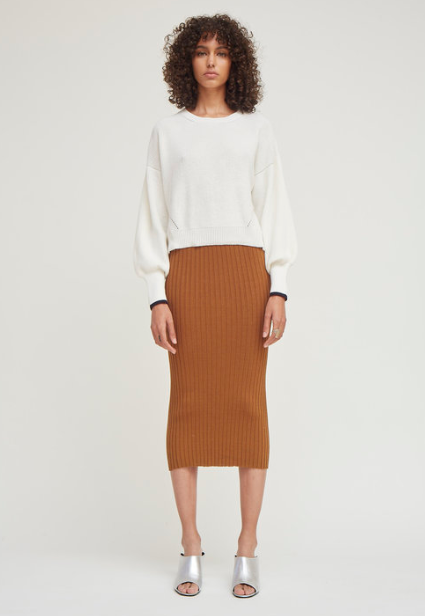 Kira Skirt Tobacco