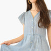 Kristi Dress - Blue Pebble
