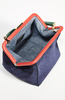 Le Box Bag Navy Suede