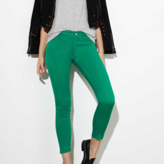 Lily Legging Skinny Crop Greenery