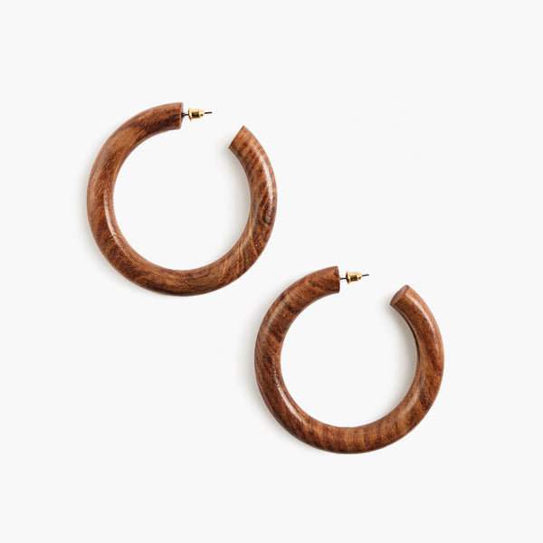 Marguax Hoop Walnut