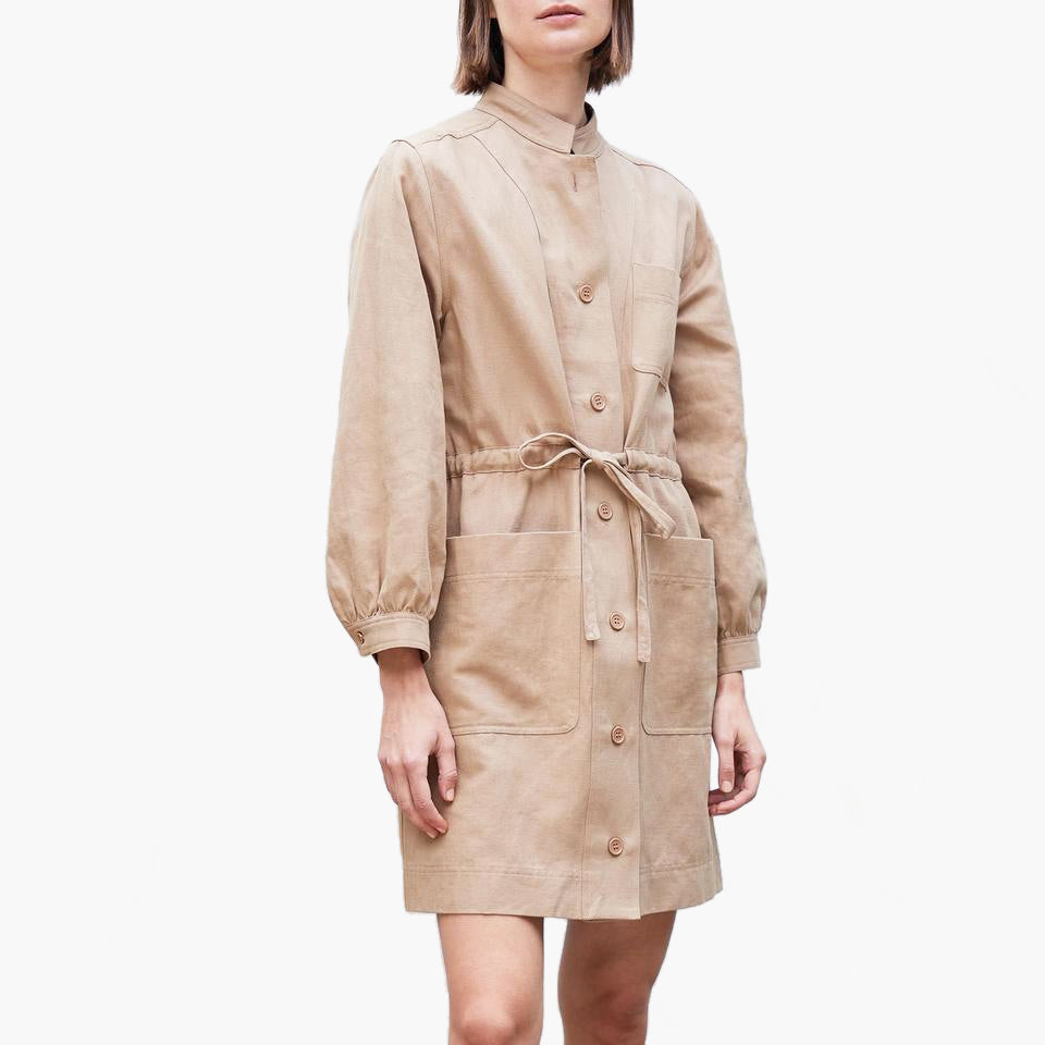 Nueva Aragon Mini Dress Camel