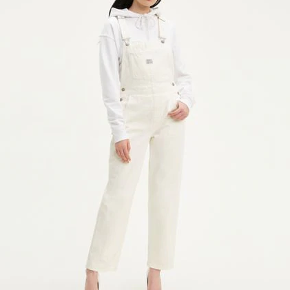 Vintage Overall White Lie