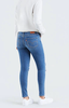 721 High Rise Skinny Rugged Indigo