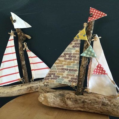 Kids Driftwood Boatmaking - Wednesday 26th July @2pm