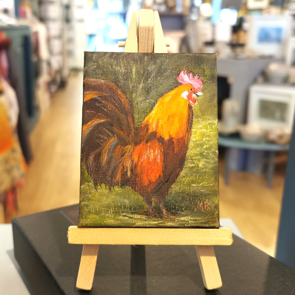 Rocky Rooster Original Mini Easel