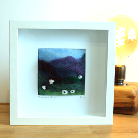 Mountains of Mourne Felt Art