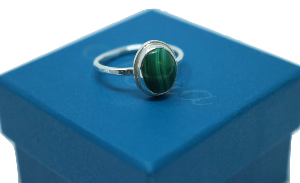 Mora Jewellery Malachite Ring