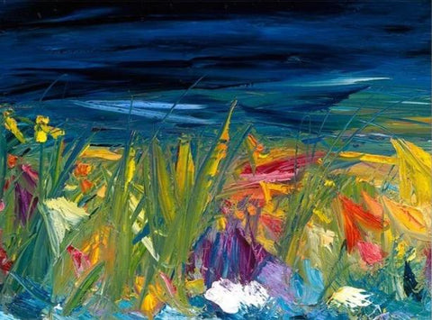 Vera Gaffney Mount Print - September Bog Night
