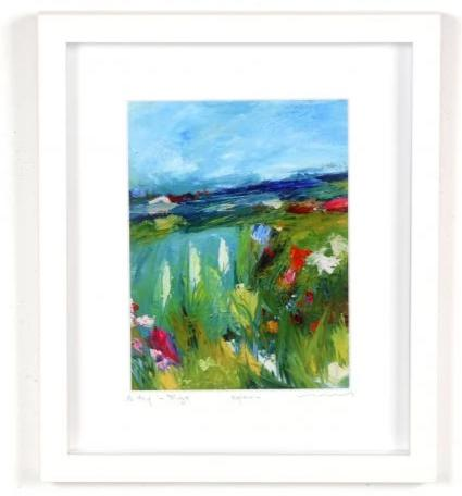 Vera Gaffney Framed Print - A Day In Sligo