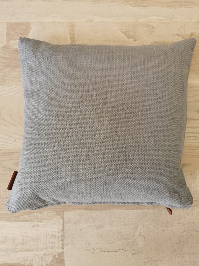 Handloom Cushion DUSTY BLUE