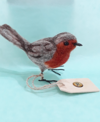 Needle Felt Bird Sculpture - Saturday 8th August @11am