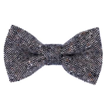Orwell & Browne Bow tie - Dappled Salt & Pepper