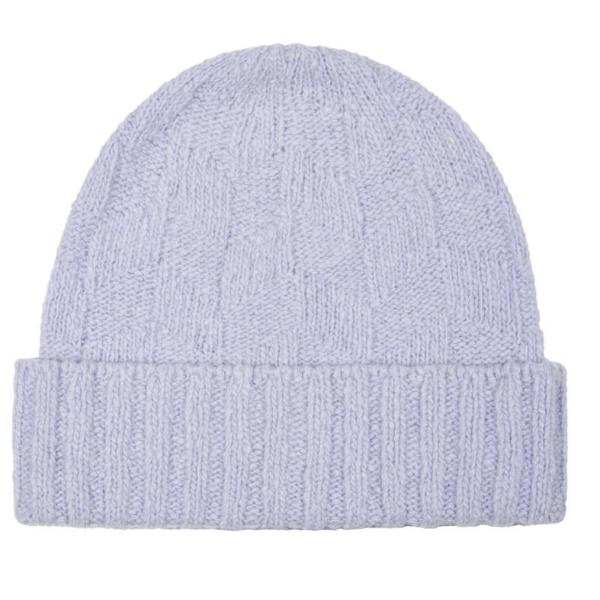 Ireland's Eye Wool Cashmere Dimond Texture Hat