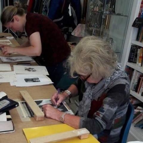 Mono Printing With Rosella Watton-Austin - Friday 21st September @7pm
