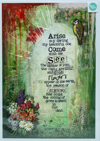 Rara Makes Song of Songs A4 Print