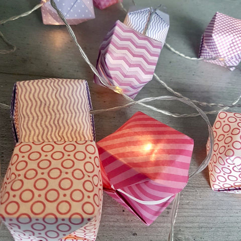 Origami Lantern Workshop - Saturday 28th September @2pm