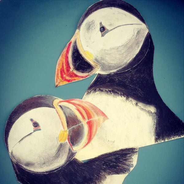 "Kids ""Puffin Story"" Paint & Canvas - Friday 17th August @2pm"