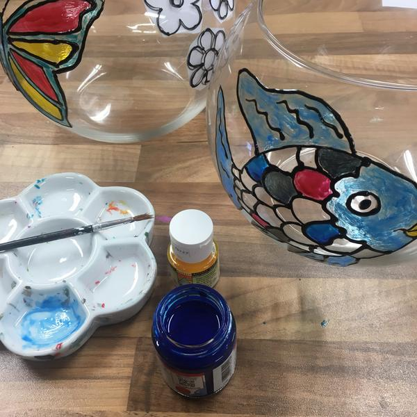 Kids Glass Painting -Friday 14th August @11am