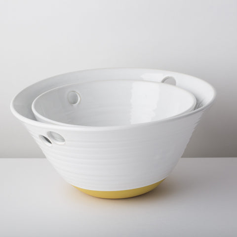 Nordic Collection Medium Yellow Bowl