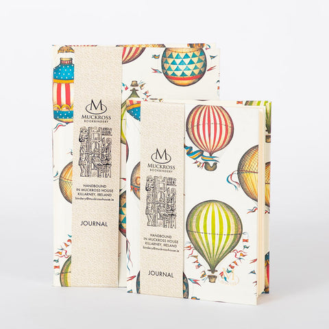 Muckross Handbound A5 Balloon Journal