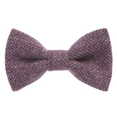 Orwell & Browne Bow Tie - Stippled Purple