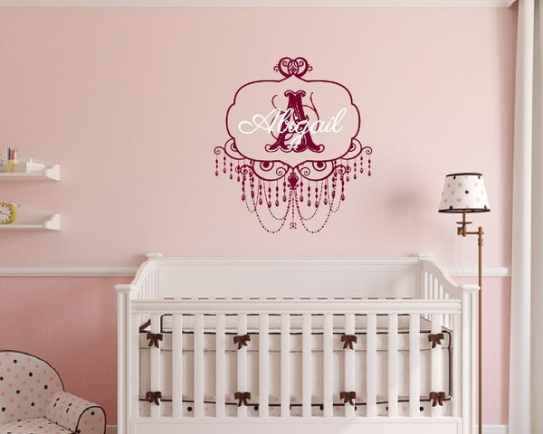 Names and Monograms Vinyl Wall Decals