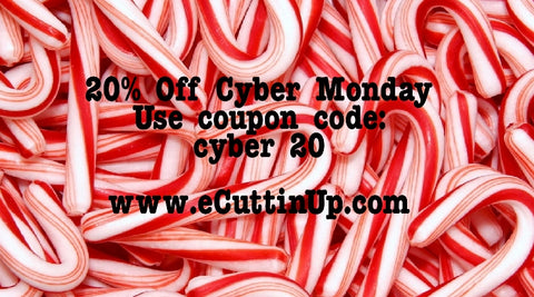 cuttin up custom die cuts cyber monday coupon 2015