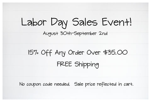 labor day sales event white shiplap background