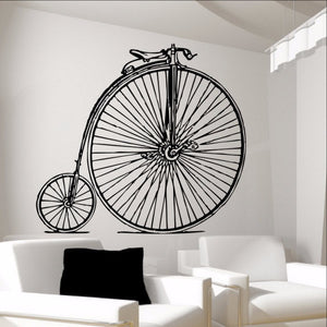 Antique Bicycle Vinyl Wall Decal Graphic 22086 - Cuttin' Up Custom Die Cuts - 1
