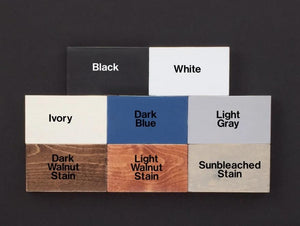 Wood Sign Color Samples