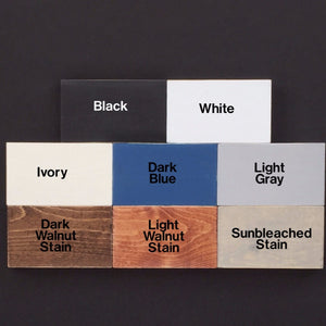 Paint and Stain Samples