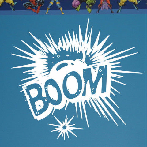BOOM Explosion Vinyl Wall Graphic 22103 - Cuttin' Up Custom Die Cuts - 1