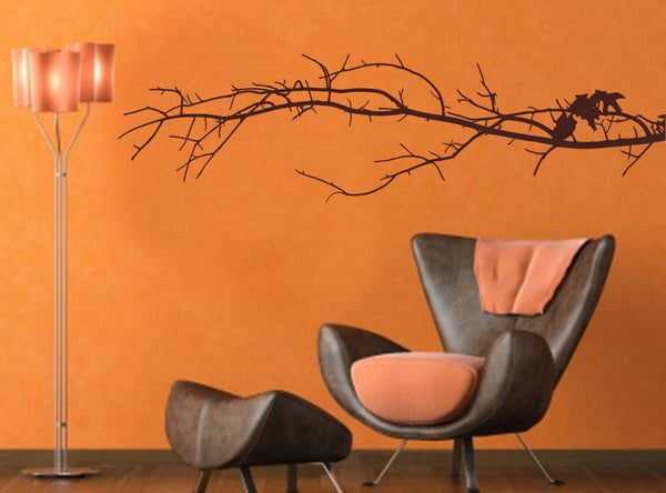 Tree Branch Decal - Long Tree Branch Vinyl Wall Decal 22112 - Cuttin' Up Custom Die Cuts - 2