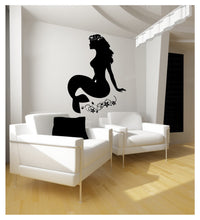 Load image into Gallery viewer, Large Mermaid Wall Decal 22124 - Cuttin' Up Custom Die Cuts - 1