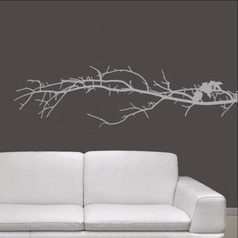 Tree Branch Vinyl Wall Decal 22112 - Cuttin' Up Custom Die Cuts - 1
