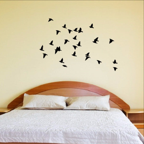 Flock of Birds Wall Decal 22163 - Cuttin' Up Custom Die Cuts - 1