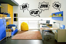 Load image into Gallery viewer, Cartoon Comics Word Bubble Wall Decals 22188 - Cuttin' Up Custom Die Cuts - 2