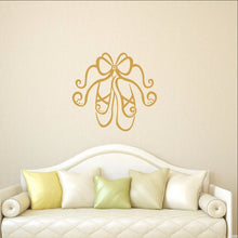 Load image into Gallery viewer, Ballet Slippers Vinyl Wall Decal 22294 - Cuttin' Up Custom Die Cuts - 1