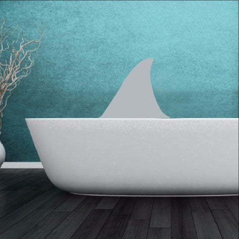 Shark Fin Vinyl Wall Decal 22309 - Cuttin' Up Custom Die Cuts - 1