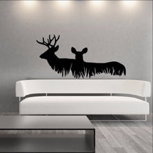 Load image into Gallery viewer, Deer in Grass Style A Vinyl Wall Decal 22326 - Cuttin' Up Custom Die Cuts - 1