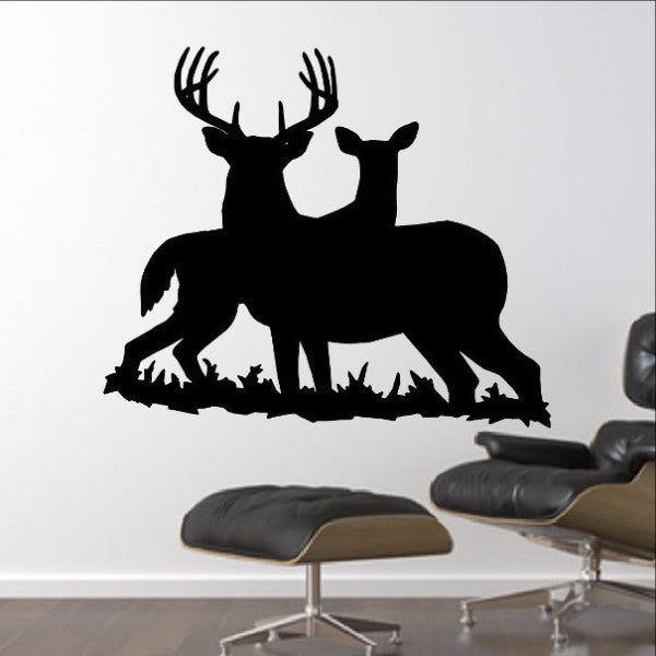 Deer Style G Vinyl Wall Decal  22332 - Cuttin' Up Custom Die Cuts - 1